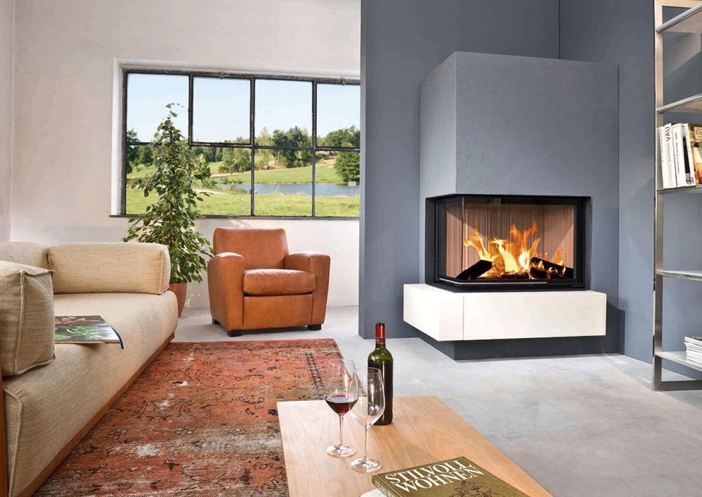eckkamin modern inspirierendes design f r. Black Bedroom Furniture Sets. Home Design Ideas